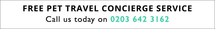 TRAVEL - Pet Concierge Number