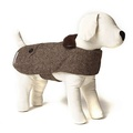 Herringbone Tweed Dog Coat