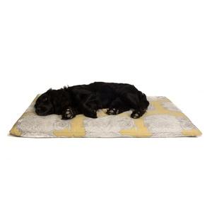 Owl Motif Dog Roll Bed - Buttercup