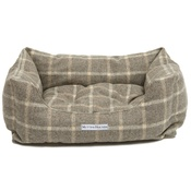 Mutts & Hounds - Slate Tweed Boxy Bed