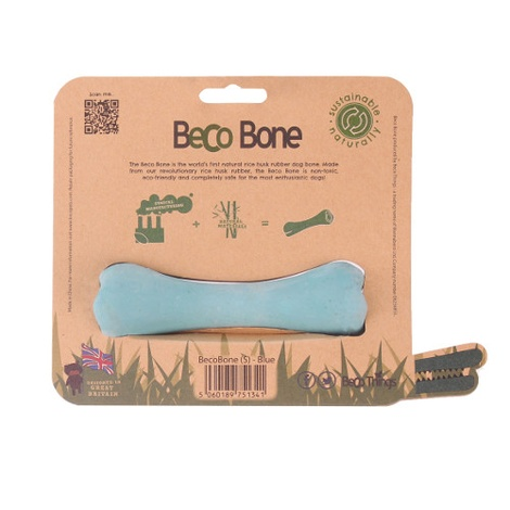 BecoBone Dog Toy - Blue 5