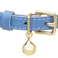 Leather Blue Cat Collar 2