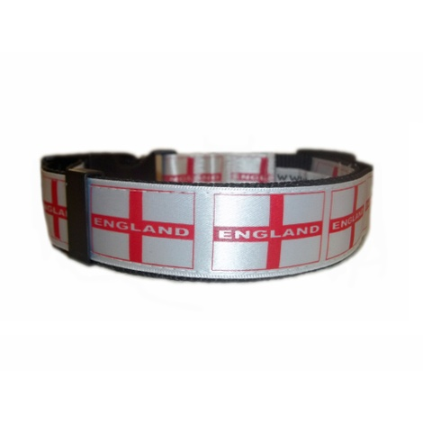 England St George Dog Collar 2