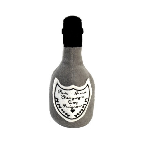 Dog Pérignon Champagne Bottle Squeaky Toy