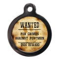Crimes Against Postmen Pet ID Tag