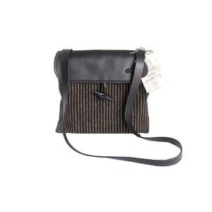 Woolly Bag Classic Pinstripe Cross Body Bag