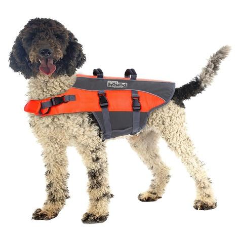 Ripstop Dog Life Jacket – Orange 2