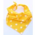 Yellow Star Dog Bandana