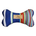 Dog Bone Toy with Aniseed - Circus Stripe
