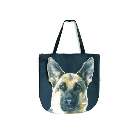 Sherman the German Shepherd Dog Bag