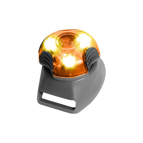 Rigel Multi-Purpose LED Light for Dog Collar – Orange 2