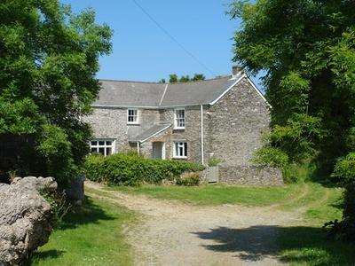 Polcreek Farmhouse, Cornwall, Veryan
