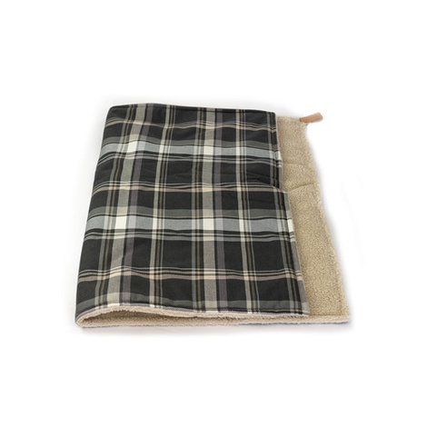Dog Blanket - Fabric and sherpa wool - Marlow
