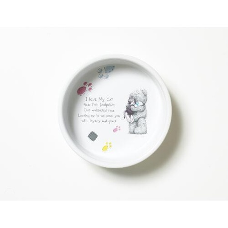 Me To You Ceramic Cat Bowl