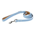 Tuscany Leather Dog Lead – Light Blue