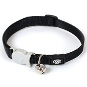 Red Dingo - Plain Black Kitten Collar