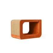 Catworks - Scratching Post - Letter O - Orange