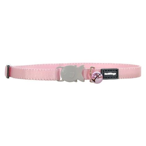 Plain Light Pink Kitten Collar