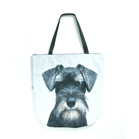 Miles the Miniature Schnauzer Dog Bag
