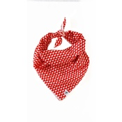 Arton & Co - Red Christmas Tree Traditional Dog Bandana