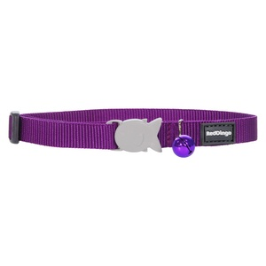 Plain Purple Cat Collar