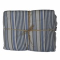 Luxury Pet Blanket – Seaside Stripe