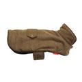 Tweed Dog Coat – Brown