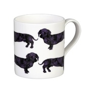 The Graduate Collection - Dachshund Mug - Purple