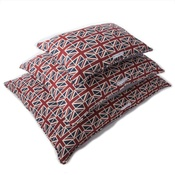 Mutts & Hounds - Union Jack Linen Pillow Dog Bed