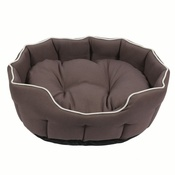 Kudos - Kudos Kingston Oval Pet Bed in Grey