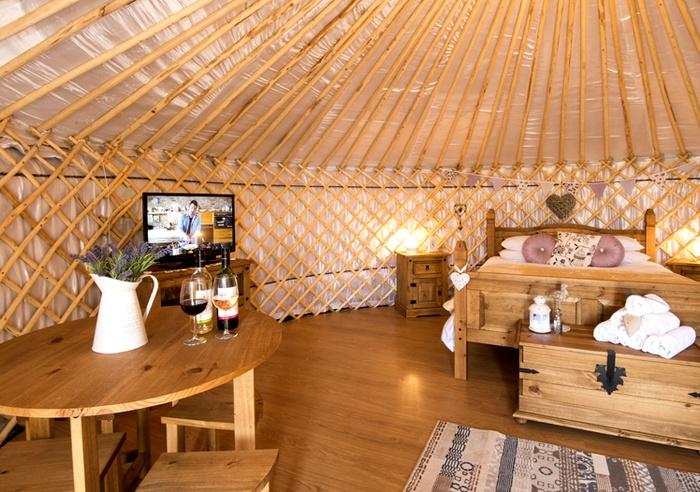 Primrose Yurt, Cornwall 1
