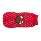 House of Paws - Red Christmas Pudding Jumper