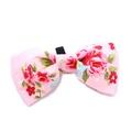 Pink Vintage Bow Tie