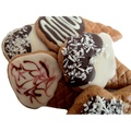 Doggie Ice Cream Cone Cookie x4 2