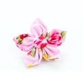 Pink Vintage Flower Collar Accessory