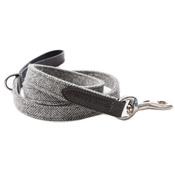 Mutts & Hounds - Stoneham Grey Tweed Dog Lead
