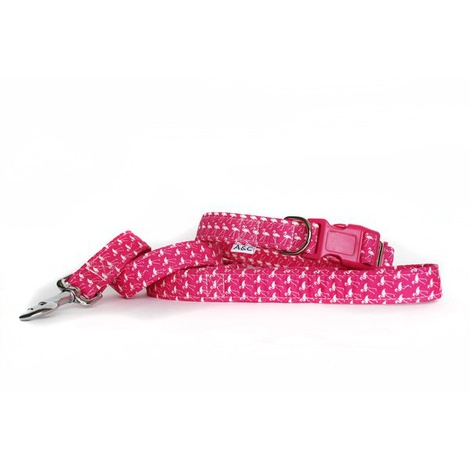 Flamingo Fun Dog Lead  2