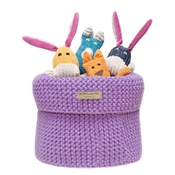 Bowl&Bone Republic - Bowl&Bone Cotton Basket Lily