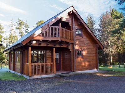 Roe Deer Log Cabin, Banffshire, Buckie