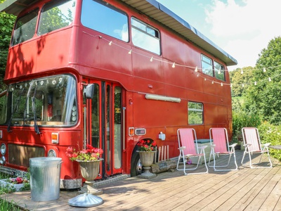 The Red Bus!, Gloucestershire, Newnham On Severn