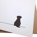 Set of 12 Sitting Dog Notecards 3