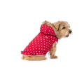 Polka Dot Dog Gilet – Red 2
