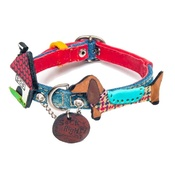 SR! Dog Accessories - Dog Collar Tale About the Dog & the Toadstool
