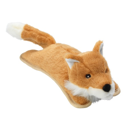 Woodland Fox Plush Dog Toy