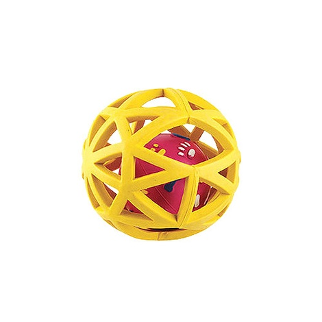 Gor Rubber Extreme Giggler Dog Toy - Yellow