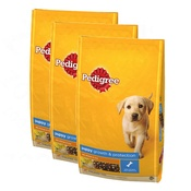 Pedigree - Puppy Complete Chicken Dog Food x 3