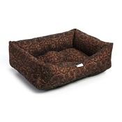 Pet Pooch Boutique - Bronze Flock Dog Bed