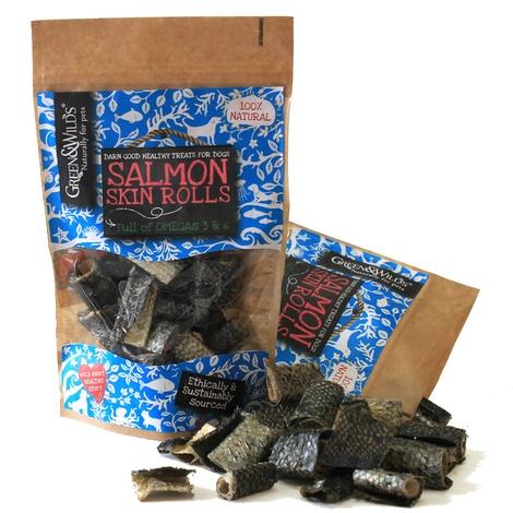 3 x Salmon Skin Rolls