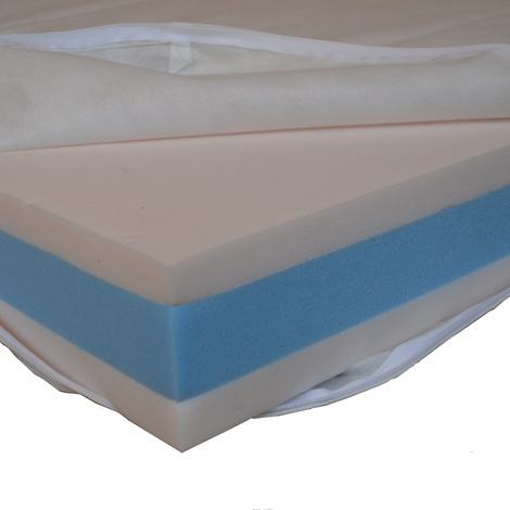 Foam Dog Bed - Bluebell 3