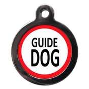 PS Pet Tags - Guide Dog Pet ID Tag
